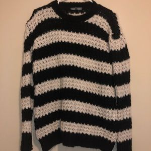 AE Don't Ask Why Striped Knit Sweater